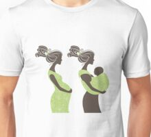 Beautiful pregnant woman #5 Unisex T-Shirt