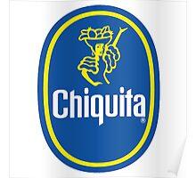 Chiquita Banana Logo Poster
