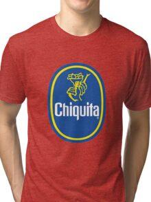 Chiquita Banana Logo Tri-blend T-Shirt