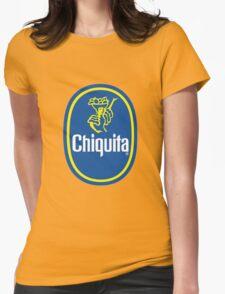 Chiquita Banana Logo Womens Fitted T-Shirt