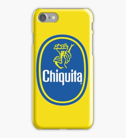 Chiquita Banana Logo iPhone Case/Skin