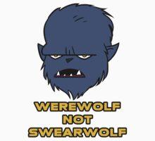 Werewolf not Swearwolf Kids Tee