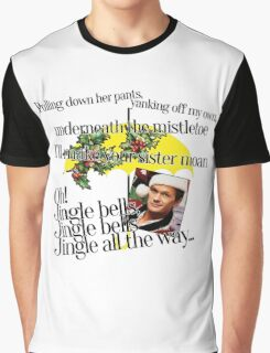 Jingle bells by Barney Graphic T-Shirt
