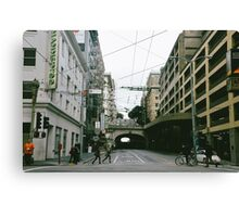 Street Tunnel Canvas Print