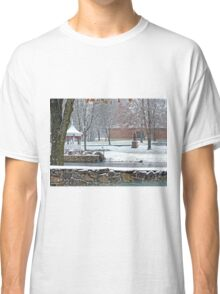 Duck Pond in the Snow Classic T-Shirt