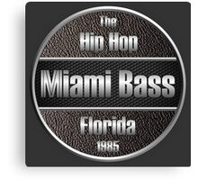 Hip Hop Miami Bass Florida 1985 Canvas Print