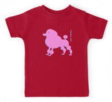 pink poodle Kids Tee