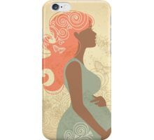 Beautiful pregnant woman #9 iPhone Case/Skin