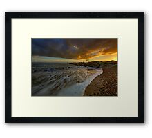 Bournemouth Beach ... Framed Print