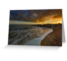Bournemouth Beach ... Greeting Card