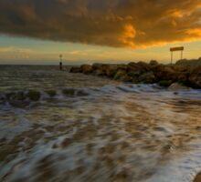 Bournemouth Beach ... Sticker