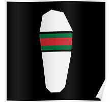 GUCCI FLIP FLOP WHITE Poster