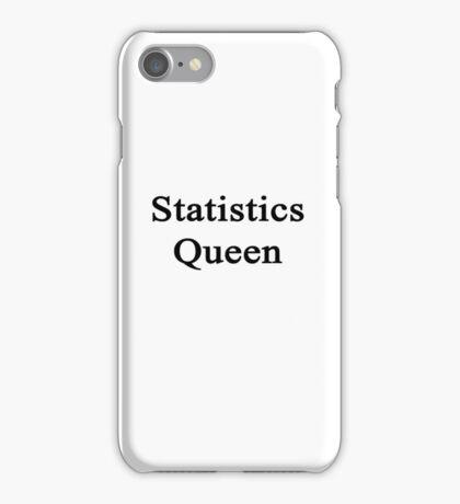 Statistics Queen  iPhone Case/Skin