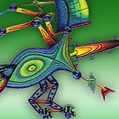 robot insect - m. a. weisse by fuxart