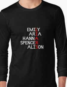 LIARS - Pretty Little Liars Long Sleeve T-Shirt