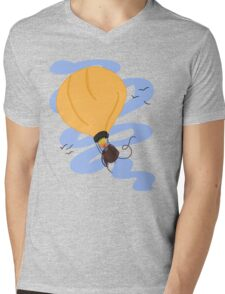 Hot Air Balloon in the Sky Mens V-Neck T-Shirt