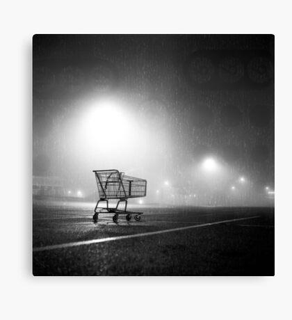 Shopping Cart Canvas Print