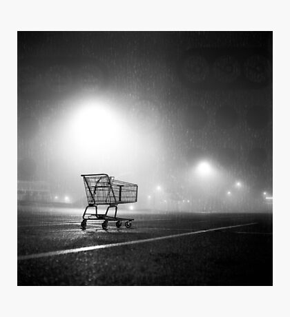 Shopping Cart Photographic Print