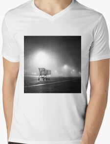 Shopping Cart Mens V-Neck T-Shirt