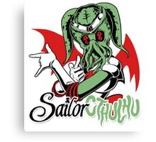 Sailor Cthulu Canvas Print