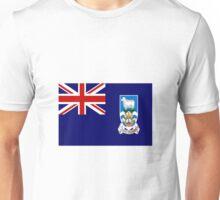 Falkland Islands Flag Unisex T-Shirt