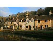 Bybrook Cottages Photographic Print
