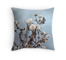 Pretty little puffy things Throw Pillow