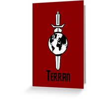 "Star Trek ""Terran"" T-Shirt Greeting Card"