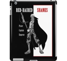 One Piece : Red-Haired Shanks (scarface parody) iPad Case/Skin
