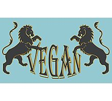 LIONS VEGAN Photographic Print
