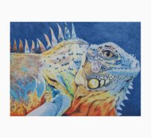The Brightly Colored Iguana Kids Tee
