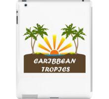 Caribbean Tropics  iPad Case/Skin