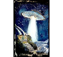 Ufo over the Shire.. Photographic Print