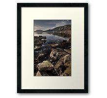 Tyneham ... Framed Print