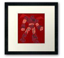 Big Hero Robot Framed Print