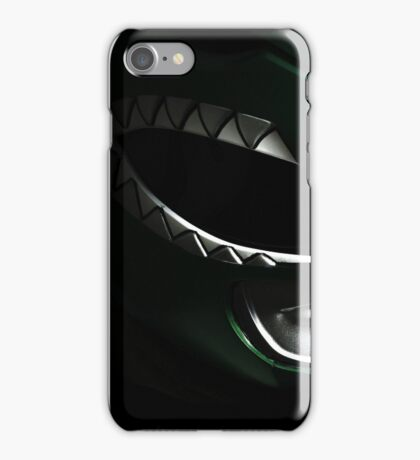 Green with Evil Power Ranger iPhone Case/Skin
