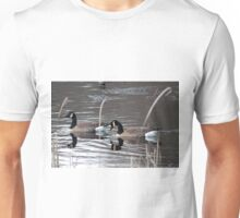 Canadian geese Unisex T-Shirt