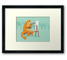 Artistic Ankylosaurus Framed Print