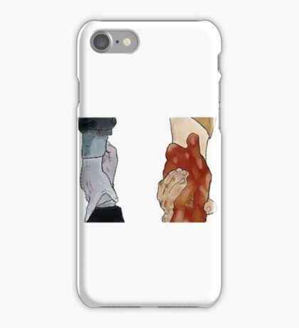 Frodo and Sam Holding Hands iPhone Case/Skin