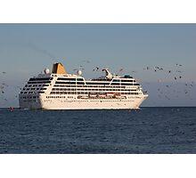Cruise ship ADONIA Photographic Print