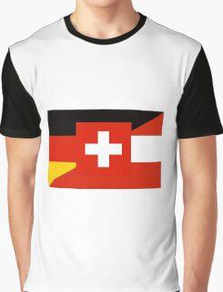German Language Flag Graphic T-Shirt