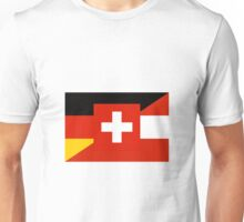 German Language Flag Unisex T-Shirt