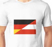 Germany-Austria Flag Unisex T-Shirt