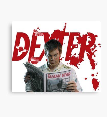 Dexter Kill the killer Canvas Print