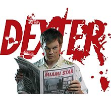 Dexter Kill the killer Photographic Print