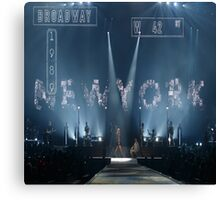 Taylor Swift Welcome to New York Canvas Print