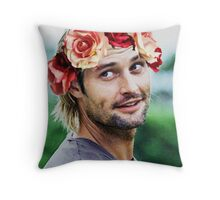 Sawyer - LOST Throw Pillow