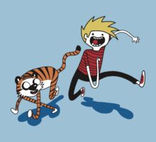 Adventure Time with Calvin and Hobbes by Sarah Mankey