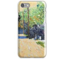 Summer Morning on 91st Street iPhone Case/Skin