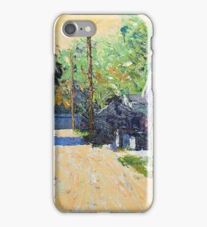 Summer Morning on 91st Street iPhone Case/Skin